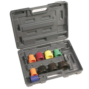 Radiator Cap Pressure Adaptor Set - 9 Pc