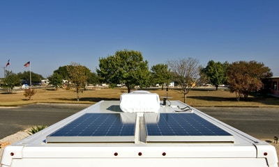 Solar solves power gulp as travellers and parks face reality of fair campsite costs