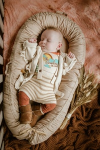 Bubba Bump Baby Oatmeal Organic Baby Lounge