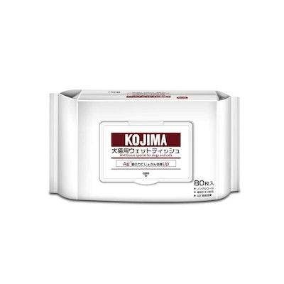 KOJIMA Pet Wet Tissue Cleaning Wipes 80pcs