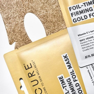 Every Sunday     Foil-Time Firming Gold Foil Mask