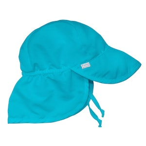 i play. Flap Sun Protection Hat-Aqua