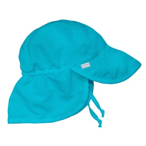 i play. Flap Sun Protection Hat-Aqua