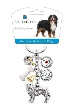 Little Gifts Keyrings - Bernese Mountain Dog