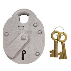 Chubb / Union High Security Hardened Steel 1K21 5 Lever Padlock