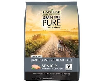 Canidae Senior Grain Free Pure Meadow Dry Dog Food Fresh Chicken - 3 Sizes