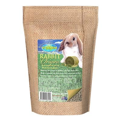 Vetafarm Origins Extruded Pellet Pet Rabbit Diet Food - 3 Sizes