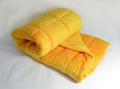 Weighted Single Bed Blanket - Saffron 3kg