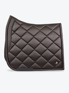 PS OF Sweden Mamba Dressage Pad - Coffee