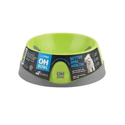 LickiMat Oh Bowl Dental Care Dog Bowl Small - 2 Colours