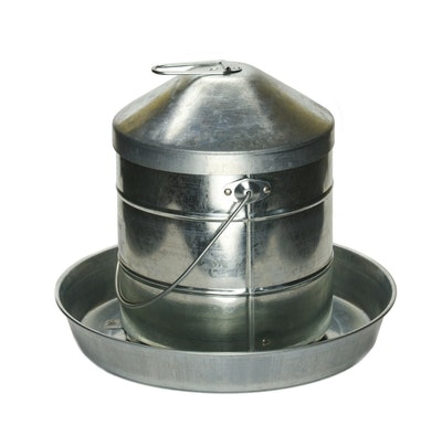 AGBOSS Galvanised Poultry Feeder - 4 Sizes