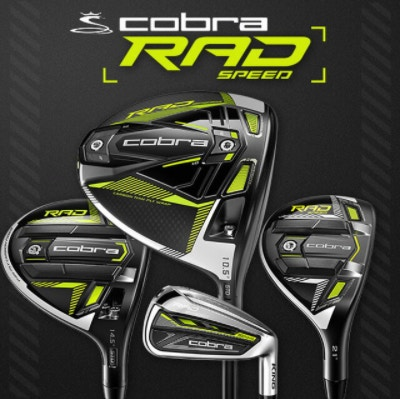 COBRA® GOLF INTRODUCES THE KING RADSPEED FAMILY