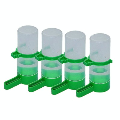 Aqualife 4pk Bird Drinker Or Feeder With Clip Small