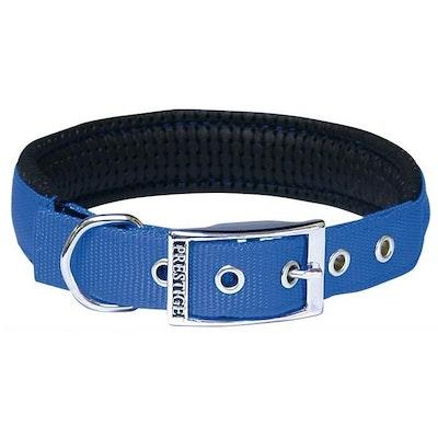 Prestige Pet Products Prestige Pet Soft Padded Adjustable Dog Collar Blue 1 Inch - 6 Sizes