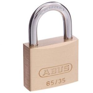 ABUS Brass Padlock 65/35 Keyed to Differ