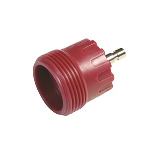 Radiator Cap Pressure Tester Adaptor - Red M48 Screw