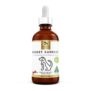 Natural Pet Supplements Kidney Support Herbal Tincture For Dogs and Cats Extra Strength 100ml