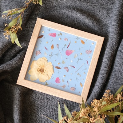 Florapeutic Confetti - Pressed Flower Art