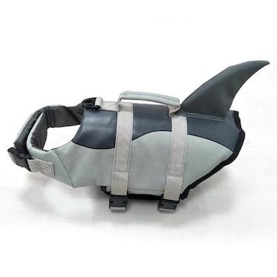 Doggy Topia Shark Dog Life Jacket