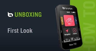 Bryton Rider 750 | Unboxing