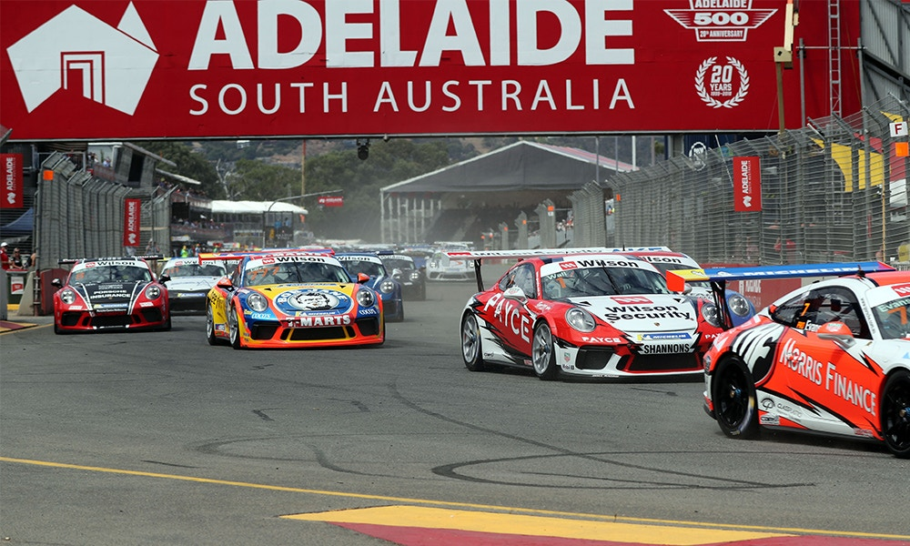 2018 Porsche Carrera Cup Series, Round 1, Adelaide 500, 1- 4 March