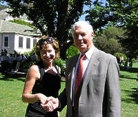 Lisa meets Governor General Jeffery