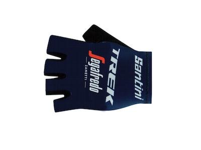 Santini Trek Segafredo Gloves Blue