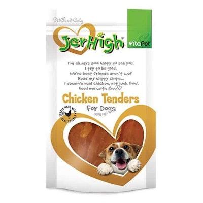 Vitapet Jerhigh Chicken Tender Dog Treats 100G