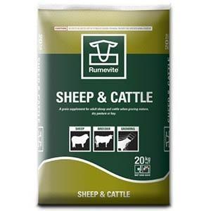 Ridley Rumevite Sheep & Cattle 20kg