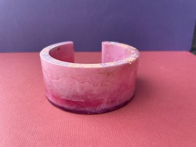 Cuff Bangle Range-Pink