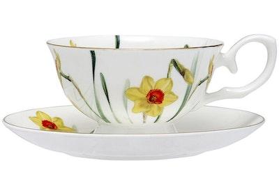 Ashdene - Floral Symphony Teacup & Saucer - Daffodil