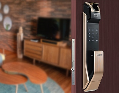 Product spotlight: Samsung Smart Push/Pull Digital Door Lock