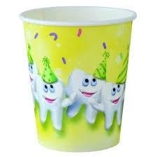 Medicom Cups - Paper Smile Tooth 147ml (5oz)