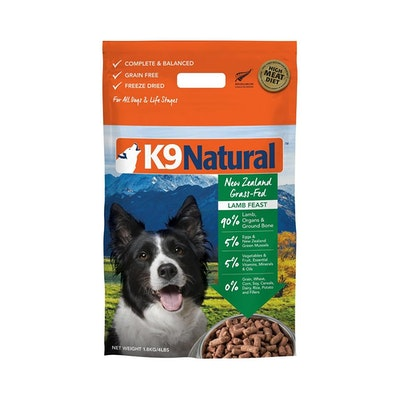 K9 Natural Lamb 1.8KG