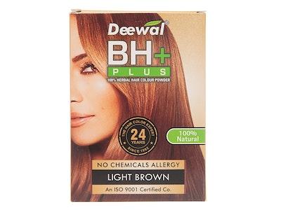Deewal BH+(100% Herbal Hair Colour Powder)(Light Brown)