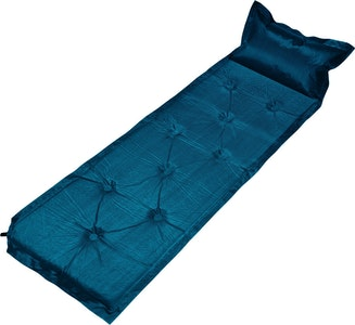 Trailblazer 9-Points Self-Inflatable Air Mattress With Pillow | Navy