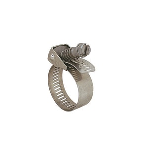 Quick Release Stainless Steel Perforated Hose Clamp 60mm - 311mm 10pk
