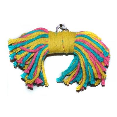 Sweet Feet & Beak Large Bow Tie Bird Toy 35 x 7.5cm