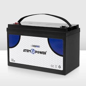 110AH AGM Battery 12V AMP Lead Acid SLA Deep Cycle Battery Dual Solar Power
