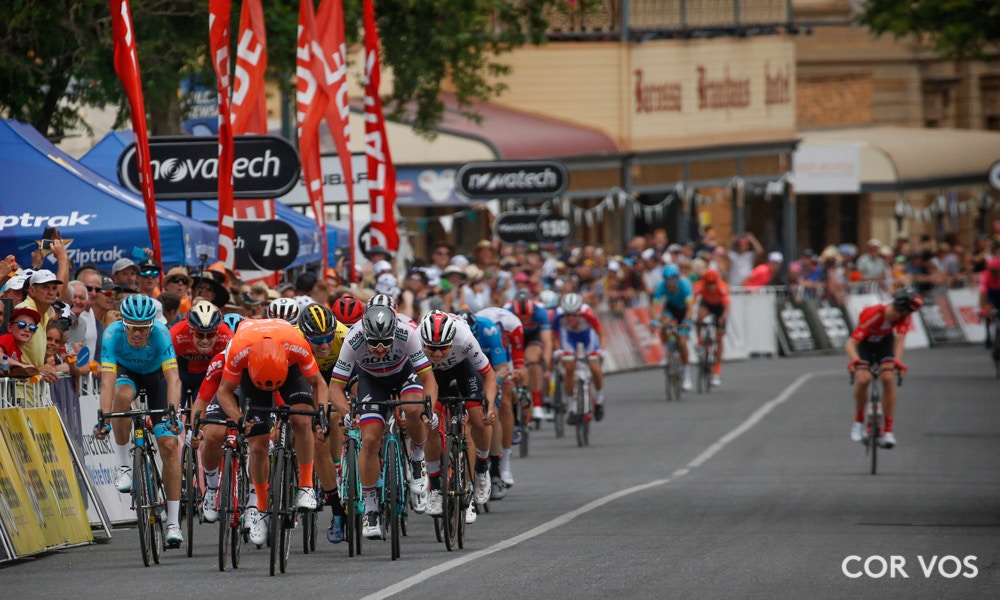 Santos Tour Down Under Stage Two Race Results