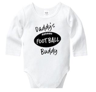Daddy's Football Buddy Onesie