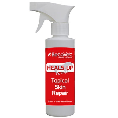 BETAVET Natural Solutions Horse Heals-Up Topical Antiseptic Spray 250ml