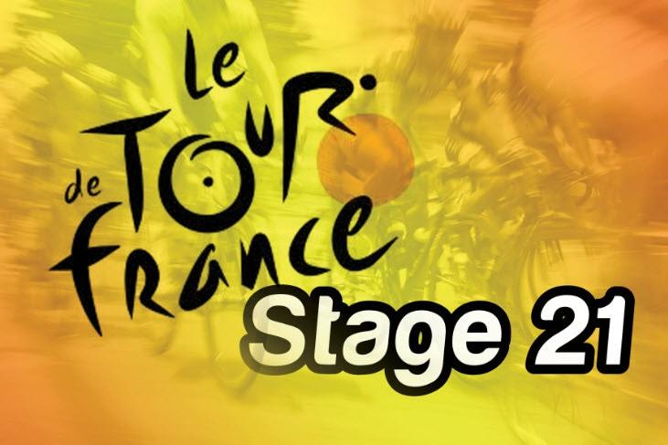 Stage 21 2011 Tour de France