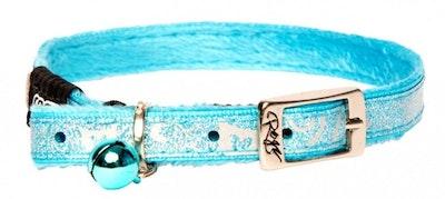 Rogz Collar Pin Buckle Sparklecat Turquoise