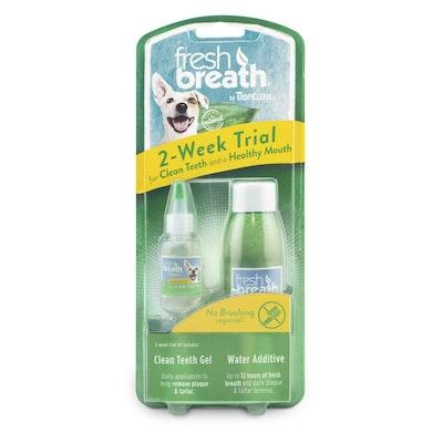 Tropiclean Fresh Breath Dental Trial Kit