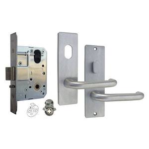 dormakaba MS2 Entrance lock kit set with 600 series square end furniture SCP
