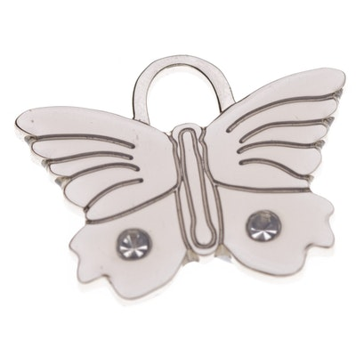 Hamish McBeth Bling Butterfly Pet ID Tag