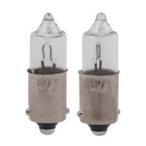 2 x Bulbs BA9S 12V 23W - Clear