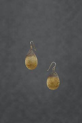 PAMdesigned Oxidised Bronze Wire Earrings - Alejandra Earrings 2020