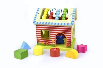 Tooky Toy ACTIVITY HOUSE
